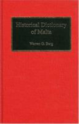 Cover image for Historical dictionary of Malta