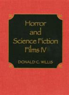 Cover image for Horror and science fiction films IV