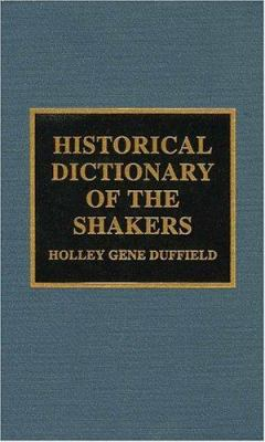 Cover image for Historical dictionary of the Shakers