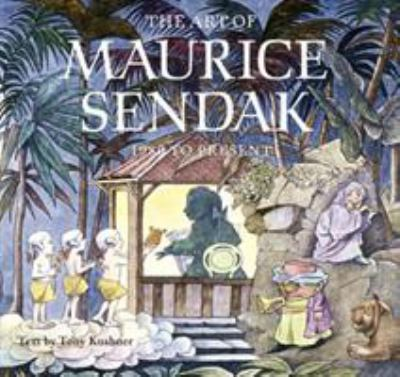 Cover image for The art of Maurice Sendak : 1980 to the present