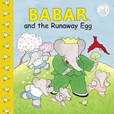 Cover image for Babar and the runaway egg