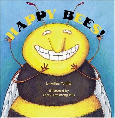 Cover image for Happy bees