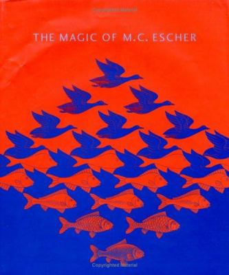 Cover image for The magic of M.C. Escher