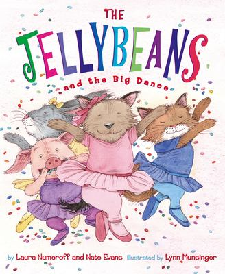 Cover image for The Jellybeans and the big dance
