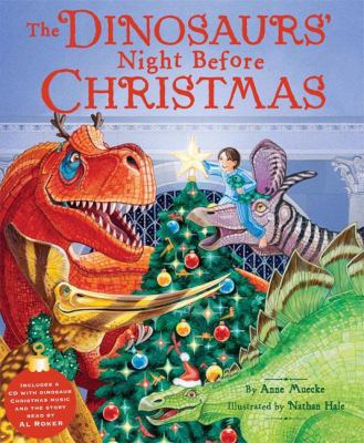 Cover image for The dinosaurs' night before Christmas