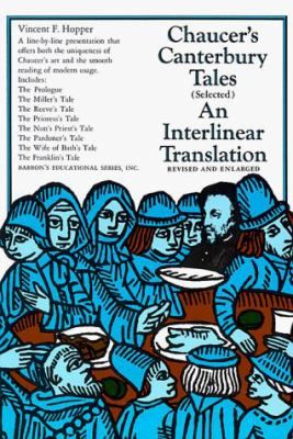 Cover image for Canterbury tales (selected)