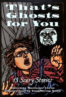 Cover image for That's ghosts for you : 13 scary stories