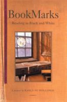 Cover image for BookMarks : reading in Black and white : a memoir