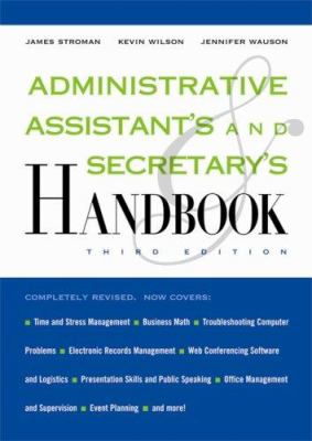 Cover image for Administrative assistant's and secretary's handbook