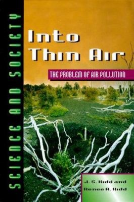 Cover image for Into thin air : the problem of air pollution