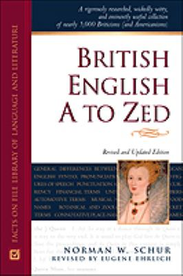 Cover image for British English, A to Zed