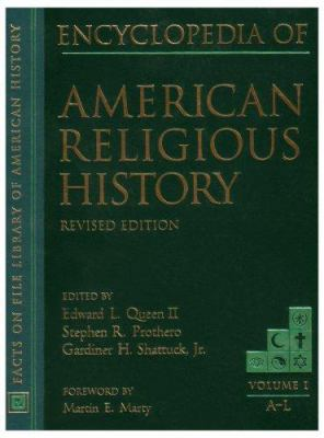 Cover image for Encyclopedia of American religious history