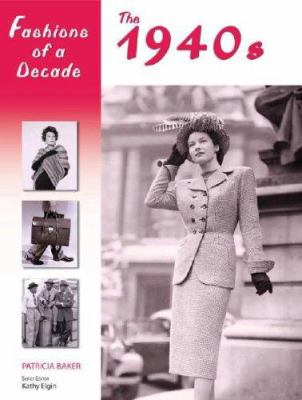 Cover image for Fashions of a decade. The 1940s