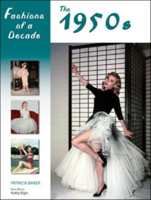 Cover image for Fashions of a decade. The 1950s
