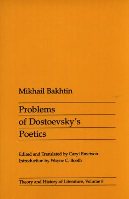 Cover image for Problems of Dostoevsky's poetics