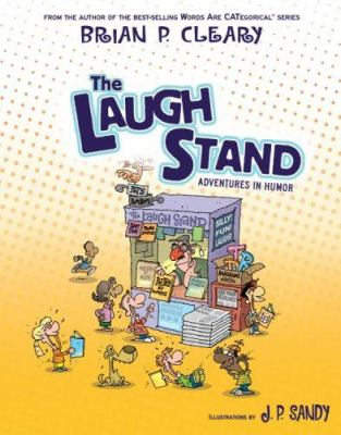 Cover image for The laugh stand : adventures in humor