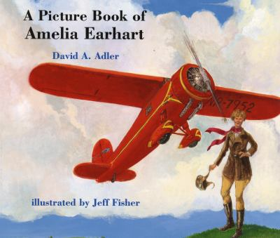 Cover image for A picture book of Amelia Earhart