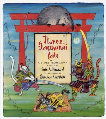Cover image for Three samurai cats : a story from Japan