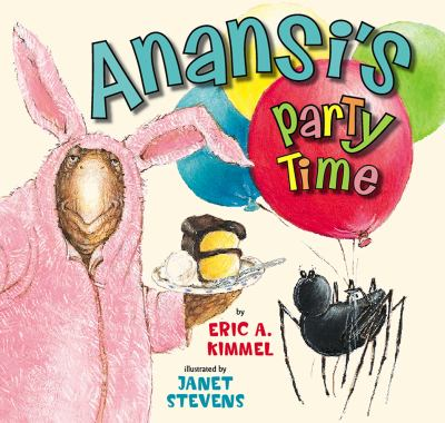 Cover image for Anansi's party time