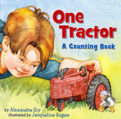 Cover image for One tractor : a counting book