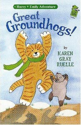 Cover image for Great groundhogs!