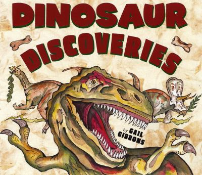 Cover image for Dinosaur discoveries
