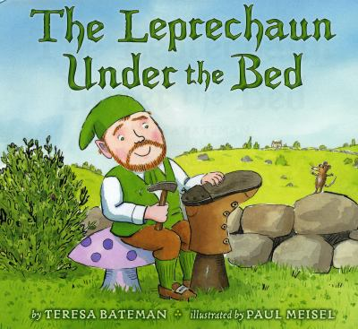 Cover image for The leprechaun under the bed