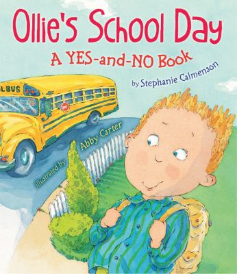 Cover image for Ollie's school day : a yes-and-no book