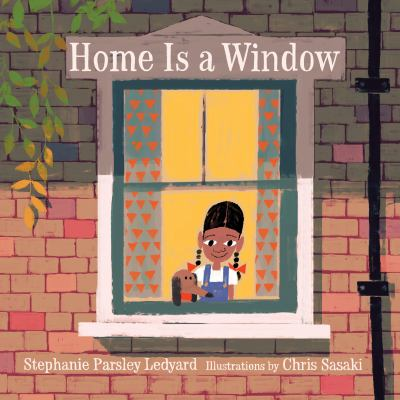 Cover image for Home is a window