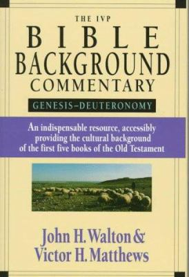 Cover image for The IVP Bible background commentary : Genesis--Deuteronomy