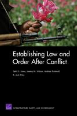 Cover image for Establishing law and order after conflict