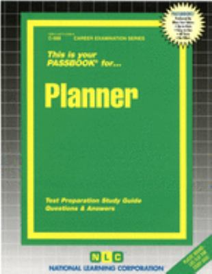 Cover image for Planner : test preparation study guide : questions & answer.