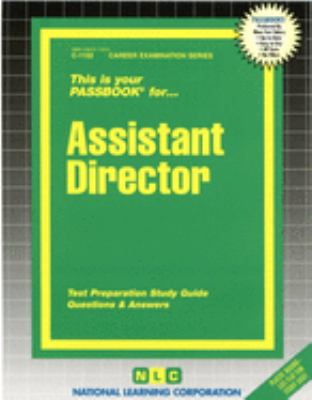 Cover image for Assistant director.