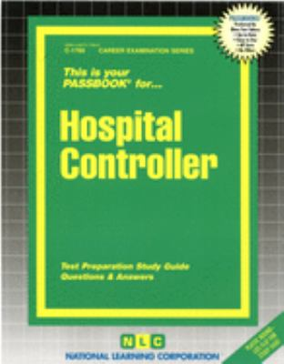 Cover image for This is your passbook for-- hospital controller.