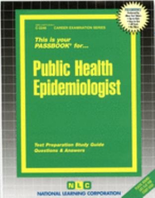 Cover image for Public health epidemiologist.