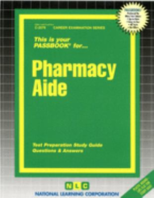 Cover image for Pharmacy aide.