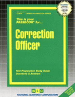 Cover image for This is your passbook for-- correction officer : test preparation study guide : questions & answers.
