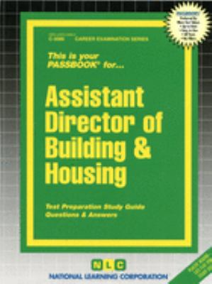 Cover image for Assistant director of building and housing.