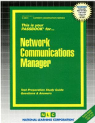 Cover image for Network communications manager.