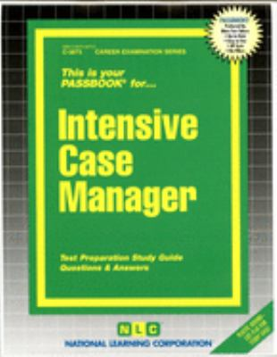 Cover image for This is your passbook for intensive case manager.