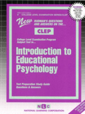 Cover image for Educational psychology : test preparation study guide : questions and answers.