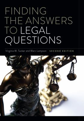 Cover image for Finding the Answers to Legal Questions