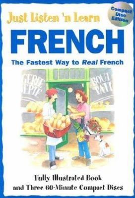 Cover image for Just listen 'n learn French