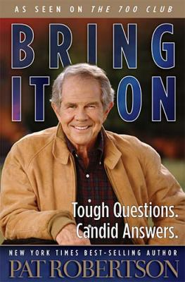 Cover image for Bring it on : tough questions, candid answers