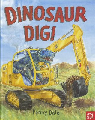 Cover image for Dinosaur dig!