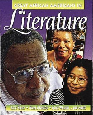 Cover image for Great African Americans in literature