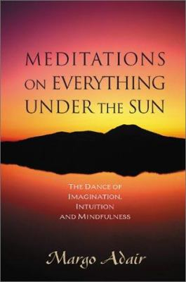 Cover image for Meditations on everything under the sun : the dance of imagination, intuition, and mindfulness