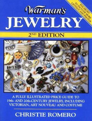 Cover image for Warman's jewelry : a fully illustrated price guide to 19th- and 20th-century jewelry, including Victorian, art nouveau and costume