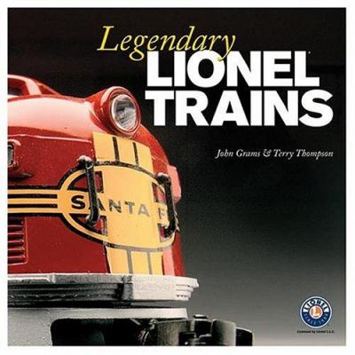 Cover image for Legendary Lionel trains