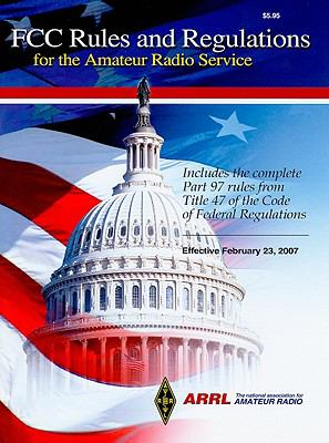 Cover image for FCC rules and regulations for the amateur radio service